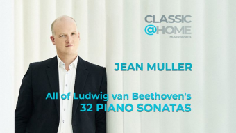 Jean Muller, Beethoven's complete piano sonatas on Classic@Home platform